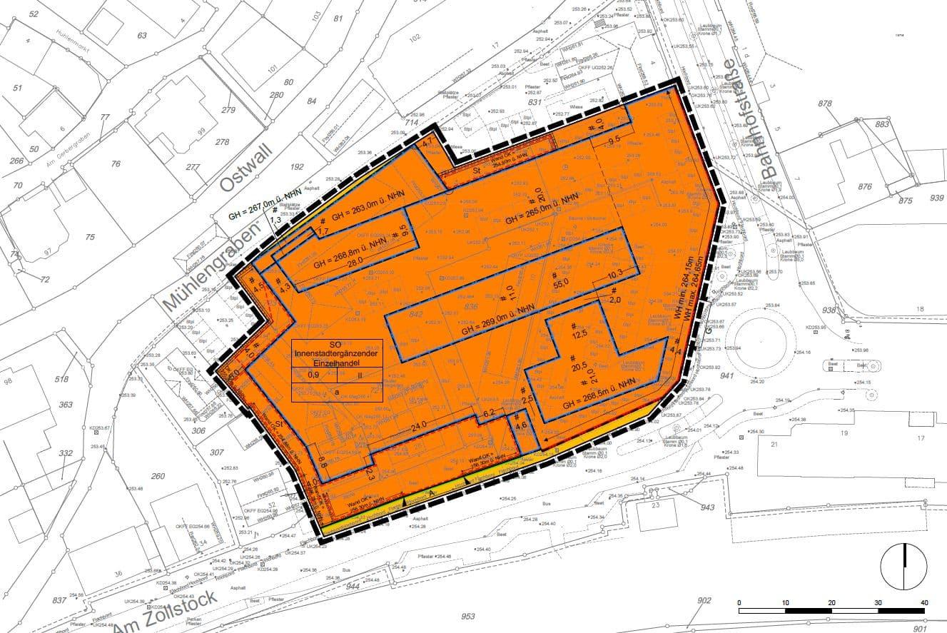 Stadt Köln Bebauungsplan