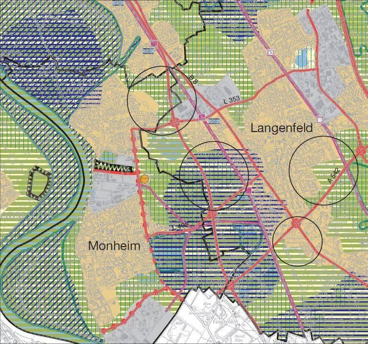 Bezirskregierung Dusseldorf, 54. Regionalplananderung