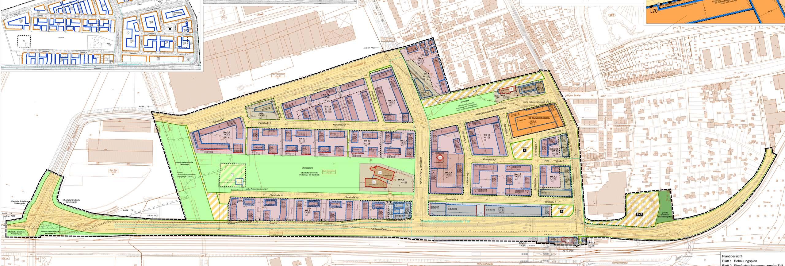 Bauleitplanung ISR