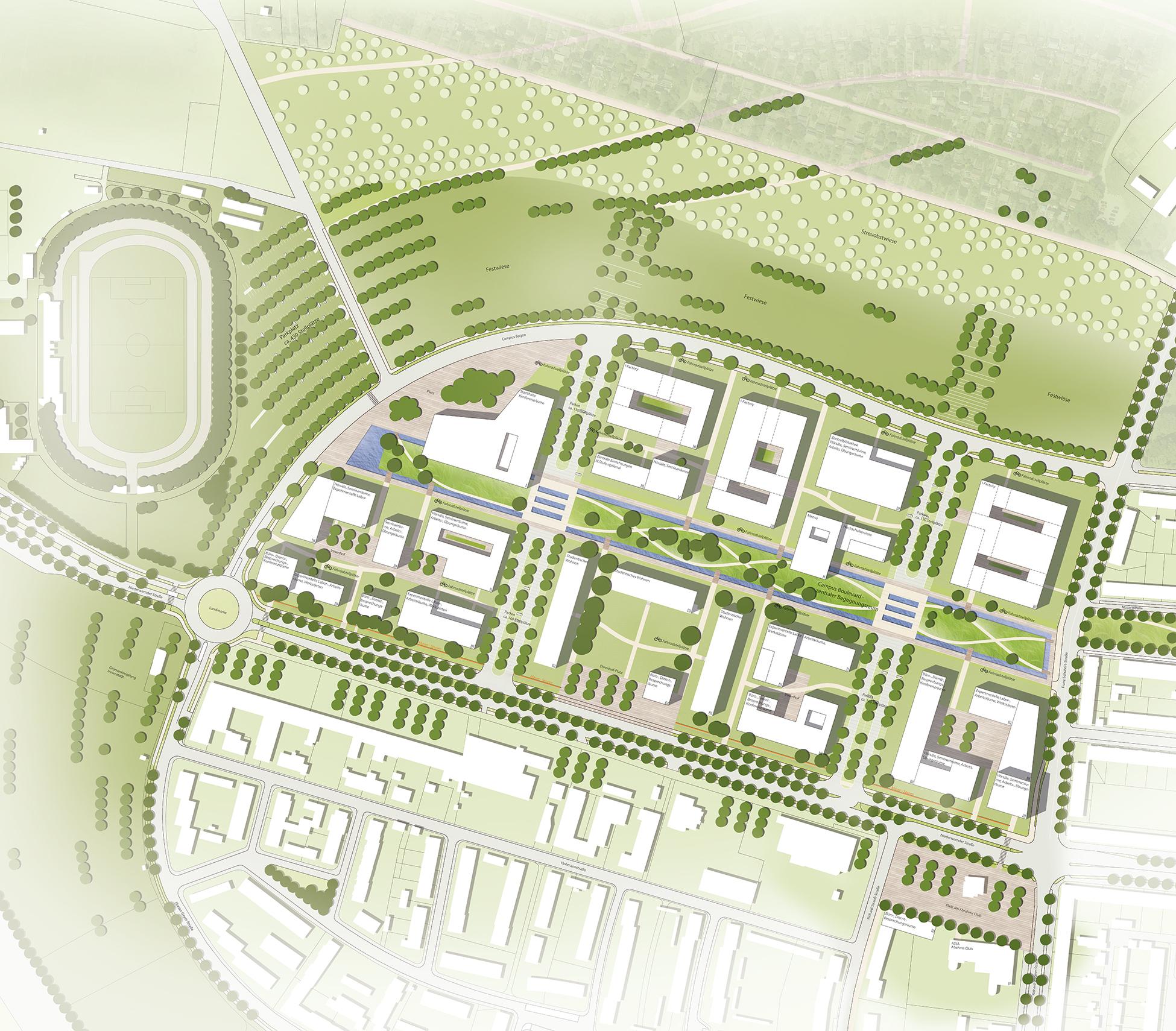 Ledward-Barracks-Schweinfurt-Lageplan