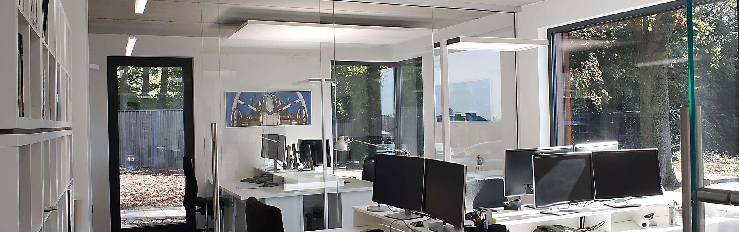 Innenraum eines Büros von ISR Haan